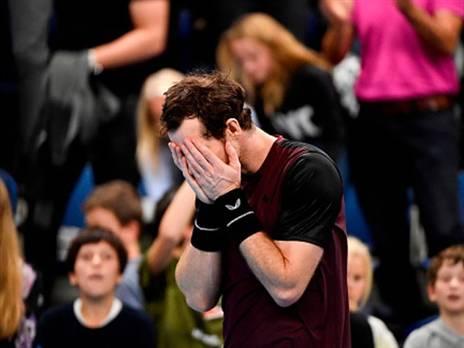 לא יכול היה לעצור את הדמעות. מארי בסיום הגמר