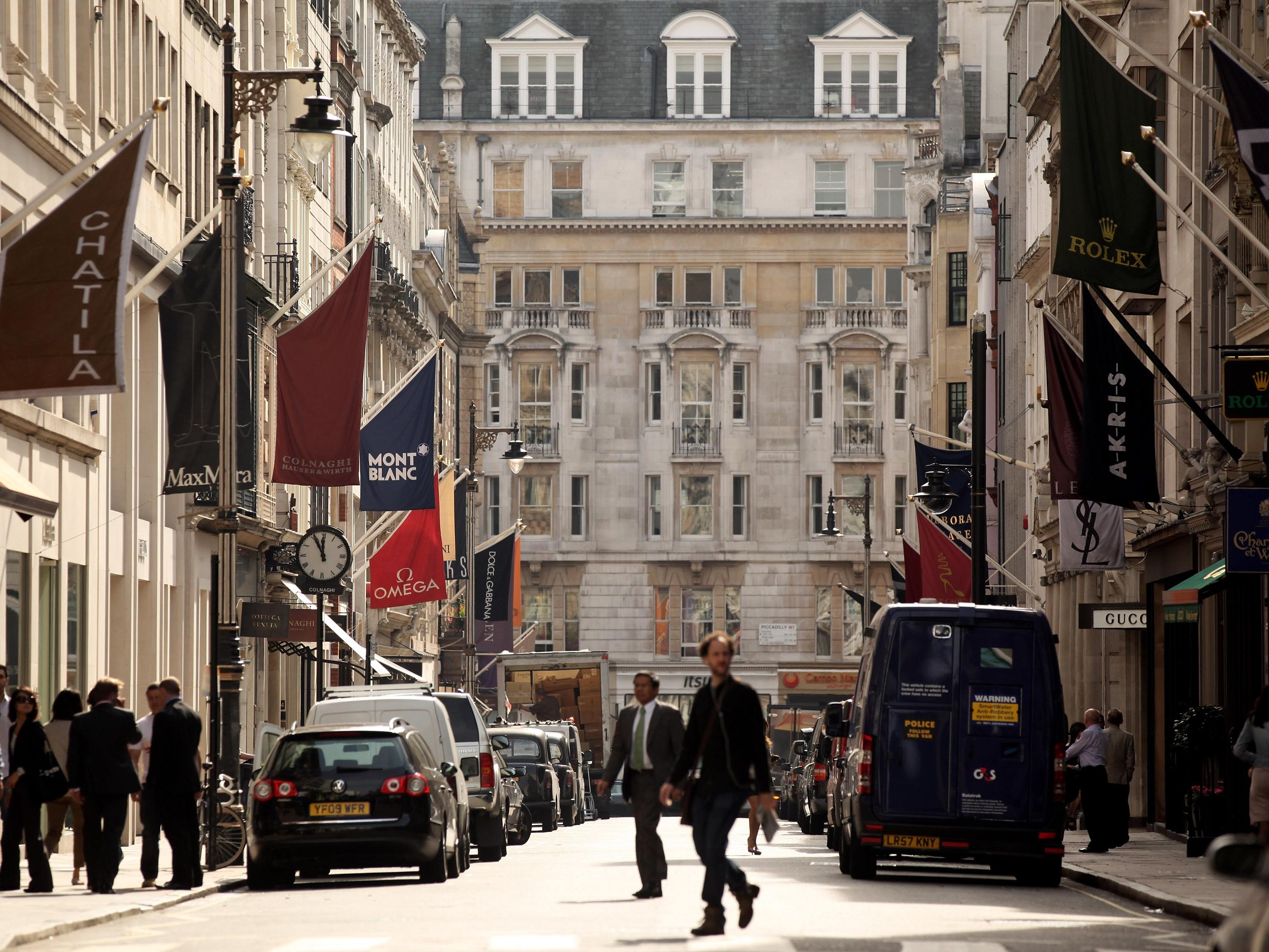 רחוב בונד, השדרה היוקרתית בלונדון (Getty)