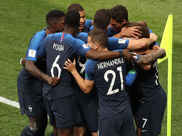 אי אפשר להתווכח עם נבחרת שמבקיעה ארבעה שערים בגמר (getty)