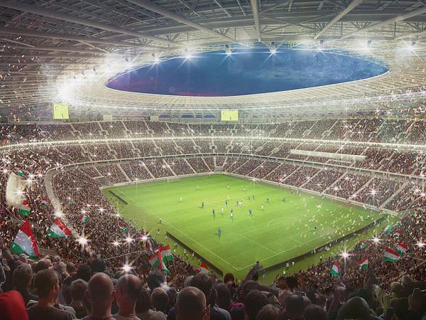 אצטדיון פרנץ פושקש החדש, בודפשט (Getty)
