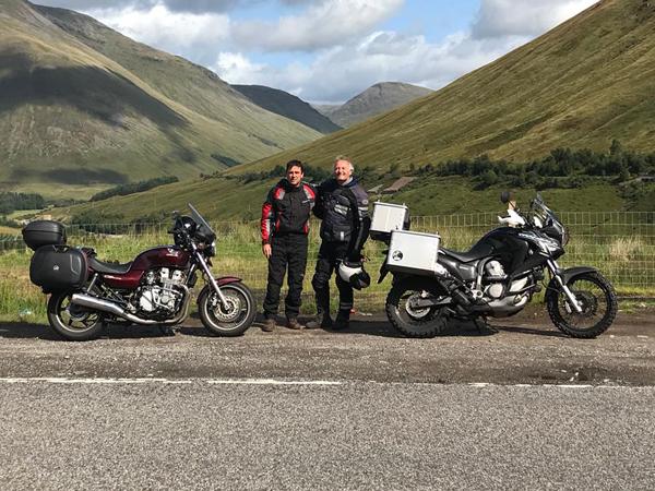 הנופים המדהימים במערב סקוטלנד