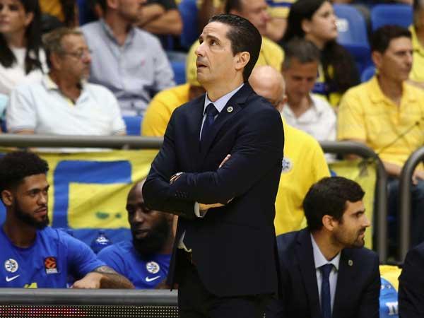 """""""אנחנו יודעים כמה המשחק חשוב למועדון ולאוהדים"""". ספרופולוס (צילום: אלן שיבר)"""