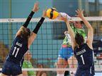 נבחרת הנשים של ישראל הפסידה 3:1 לסלובניה