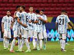 ארגנטינה ברבע גמר הקופה, שיא הופעות למסי
