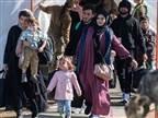 פליטים עוזבים את אפגניסטן. למצולמים אין קשר לכתבה (getty)