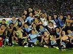 כרטיס אחרון לברזיל. אורוגוואי חוגגת (gettyimages)