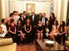14 נערי כדורעף ישראלים נפגשו עם ג'ון קרי