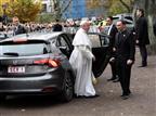 """האפיפיור בשבדיה (צילום: יח""""צ)"""