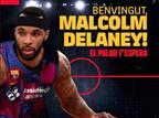 רשמי: מלקולם דילייני חתם לעונה בברצלונה