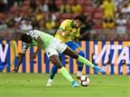 ניימאר נפצע, ברזיל וניגריה נפרדו ב-1:1