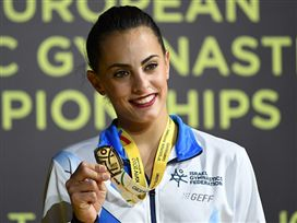 ענקית: התרגיל שסידר לאשרם אליפות אירופה