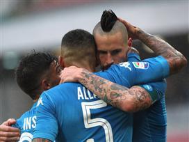 לא עוצרת: ניצחון תשיעי רצוף לנאפולי