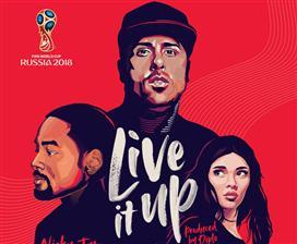 היכנסו לקצב: השיר הרשמי של מונדיאל 2018
