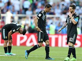 מסי החמיץ פנדל, ארגנטינה מעדה מול איסלנד