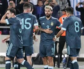 מסי ואגוארו החזירו את ארגנטינה ל-1:1