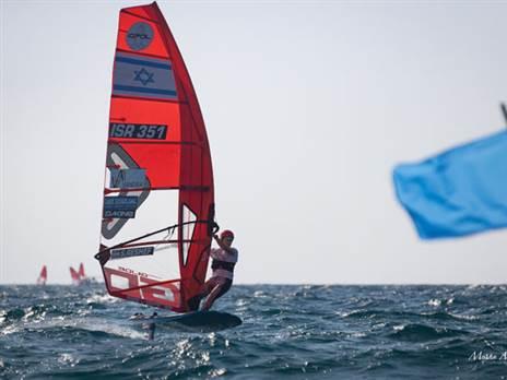 פתיחה טובה לישראל באל' אירופה ב-iQFoil