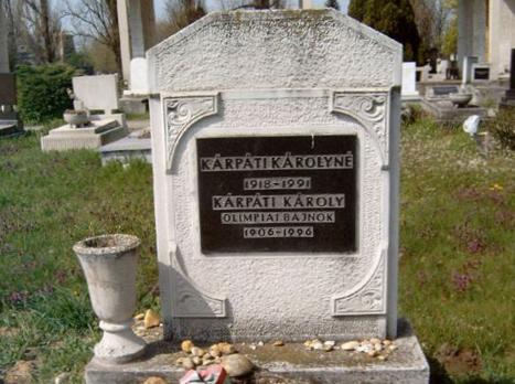 קברו של קרפטי היום בבודפשט