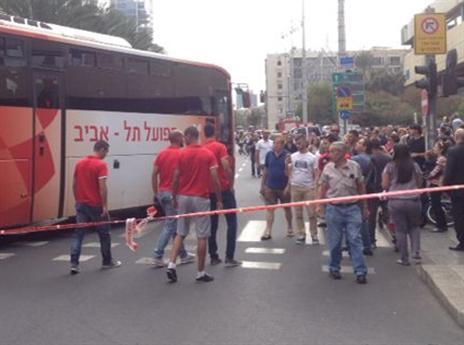 יום עצוב בתל אביב (צילום: אלן שיבר)
