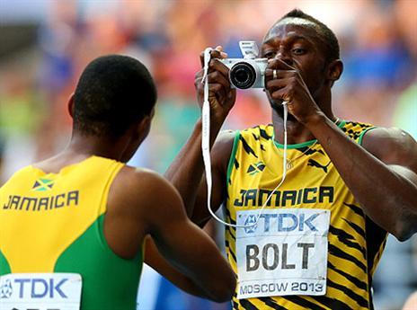 3 מדליות זהב במוסקבה לא עשו עליו רושם. בולט (gettyimages)