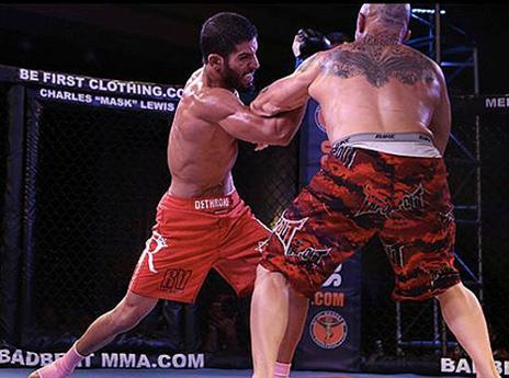 נציגות ישראלית רשמית ב-MMA