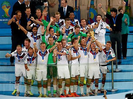 ובסוף גרמניה אלופה: בפעם הרביעית בתולדותיה - המאנשאפט זכתה במונדיאל