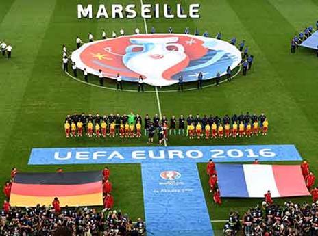 הולדורום במארסיי אירח את מפגש הענקיות בחצי הגמר בין צרפת לגרמניה