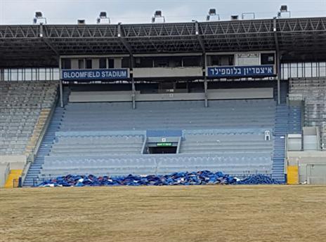 גם יציע הכבוד באיצטדיון ישופץ
