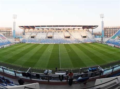 יותר מ-23,000 מקומות ביציע. האצטדיון ברג'יו אמיליה (Getty)