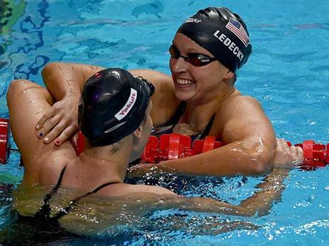 תזכה ב-6 מדליות זהב בבודפשט? לדקי (Getty)