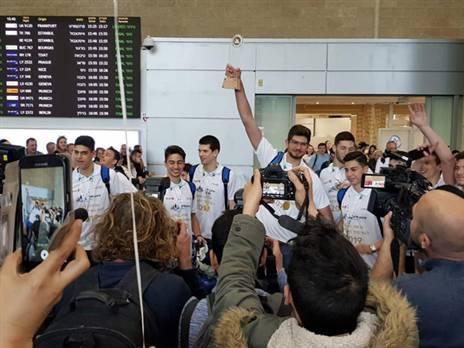 השחקנים נחתו בישראל