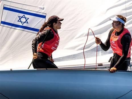 הישג נאה לצמד הישראליות (צילום: sailing energy)