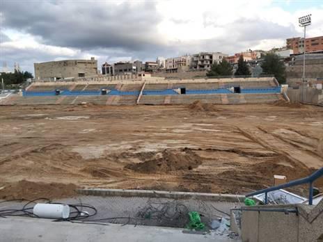 """""""יהיה האצטדיון המפואר במגזר"""" (דוברות אום אל פאחם)"""