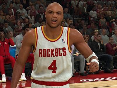 דמותו של בארקלי מופיעה ב-2K דרך מצב יצירת הדמויות של המשחק