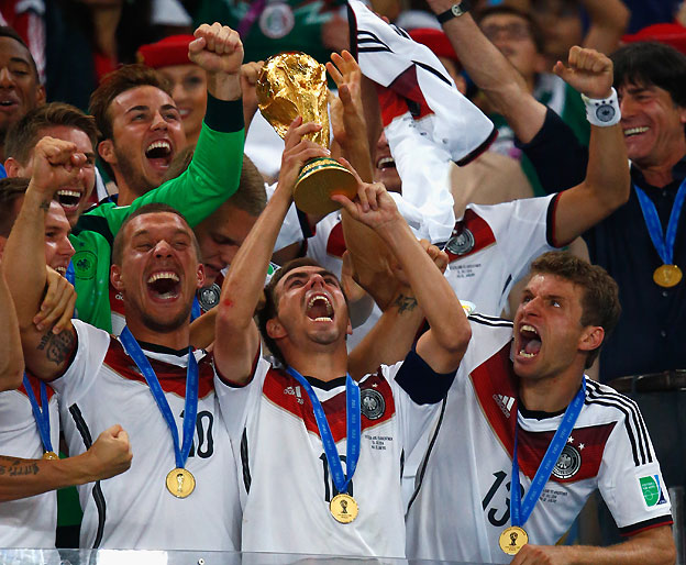 יש לה גביע: גרמניה זכתה במונדיאל! (gettyimages)