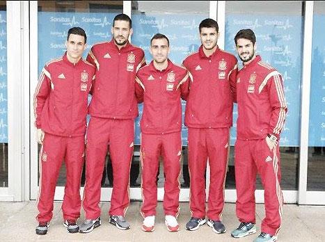 הפנים החדשות של נבחרת ספרד