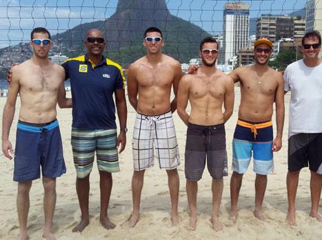 נבחרת כדורעף החופים בברזיל (צילום: הוועד האולימפי)