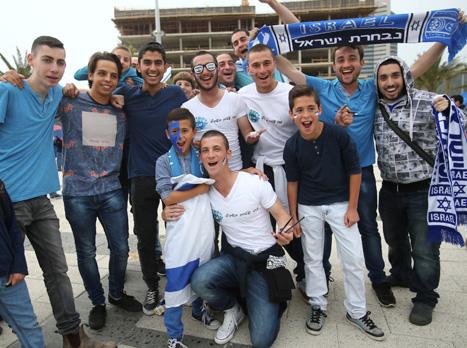 עוד לפני המשחק, האוהדים הרגישו נהדר (אלן שיבר)