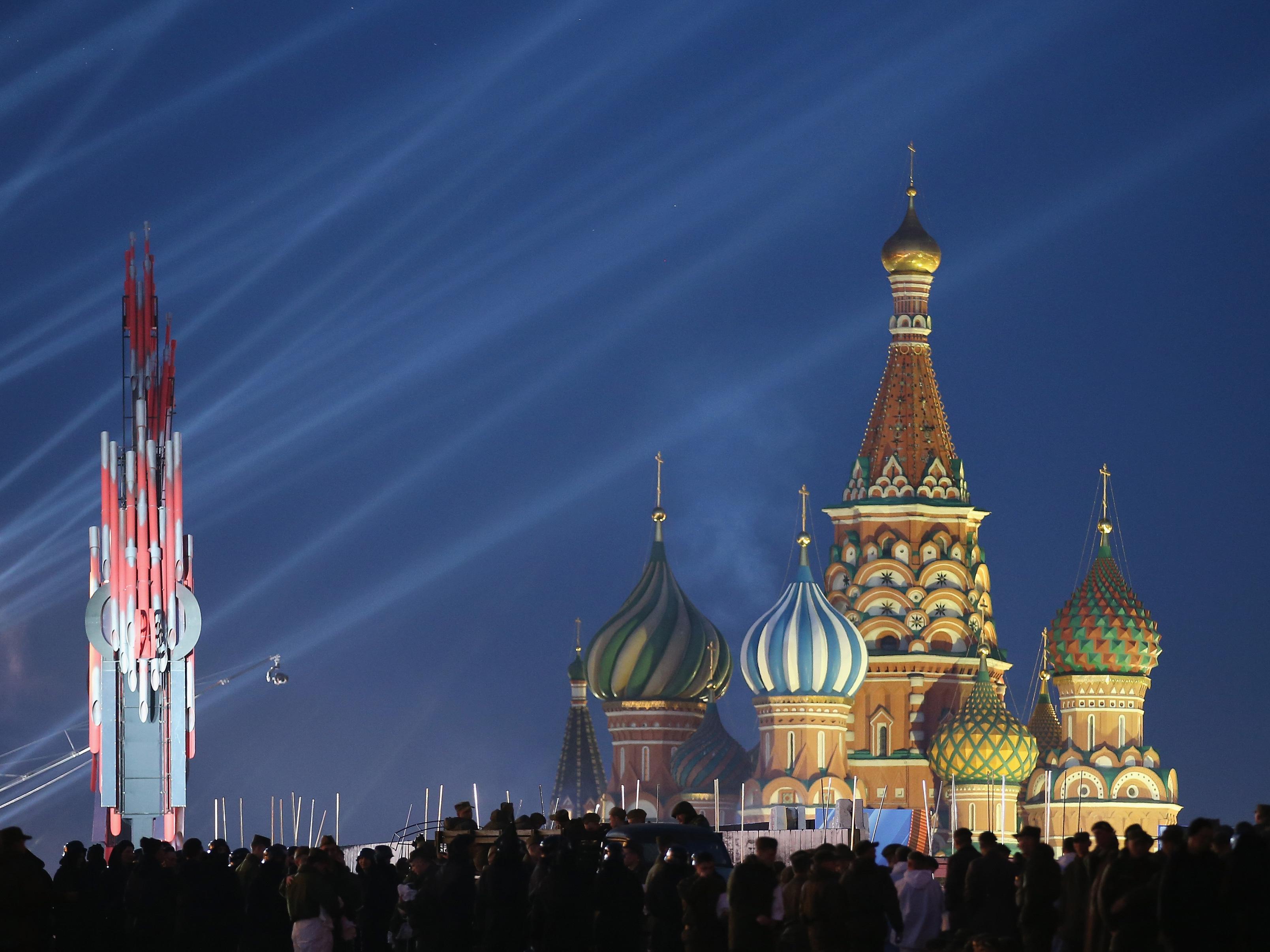 לא, זה לא דיסנילנד. ככה נראית מוסקבה (Getty)