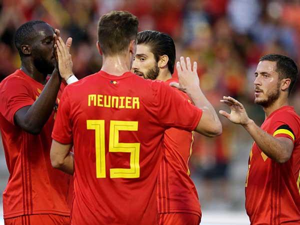 שחקני בלגיה, נראים מוכנים (getty)