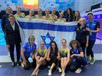 הישג: מקום חמישי לישראל בשחייה אמנותית