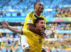 חגיגה לטינית: 0:3 ענק לקולומביה על יוון