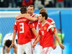 נגיעה משמינית הגמר: 1:3 לרוסיה על מצרים