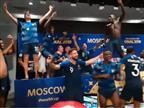 """ענק: שחקני צרפת פרצו בחגיגות במסע""""ת"""