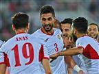 ירדן המרשימה הבטיחה עלייה עם 0:2 על סוריה