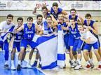 נבחרת הנוער. הישג נהדר באליפות אירופה דרג ב' (באדיבות איגוד הכדורסל)