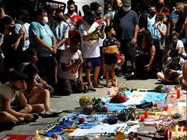 פרידה מאגדה: טקס האשכבה של דייגו מראדונה