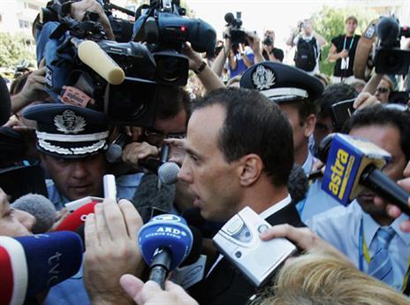 השערורייה של אתונה 2004. קנטריס (gettyimages)