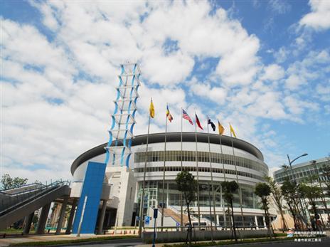 קאוסיונג ארינה, אצטדיון הספורט בו תערך אליפות העולם בגיימינג 2018. צילום: IESF