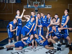 נבחרת הנוער (צילום: עודד קרני, איגוד הכדורסל)