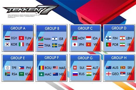 בכותר Tekken 7: שחקן הטקן וקפטן הנבחרת, מיכאל קרקז ישחק בבית אל מול נמיביה, תאילנד ושוודיה
